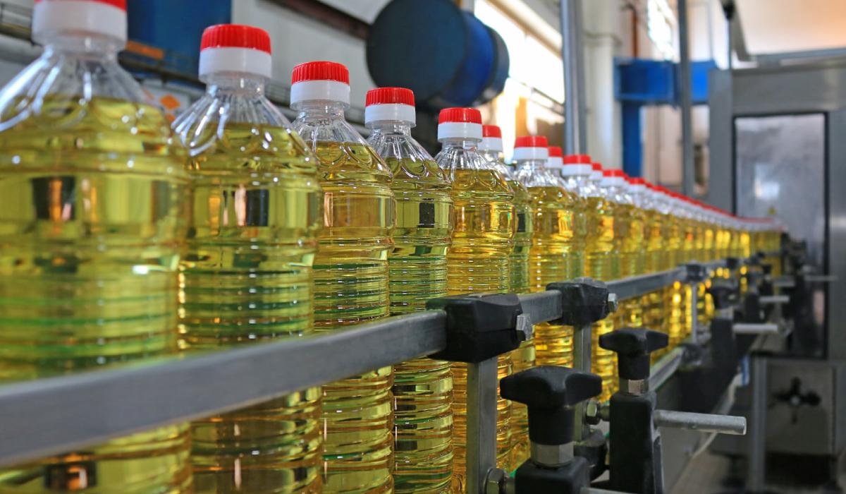 zonnebloem olie fabriek